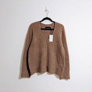 NWT Calvin Klein Mauve Fuzzy Sweater